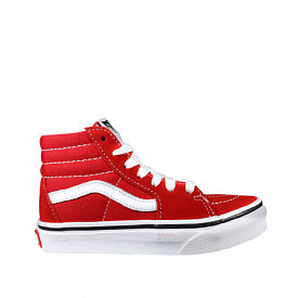 Sk8-hi Racing Red/white PS