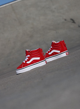 Sk8-hi zip Racing/Red TS