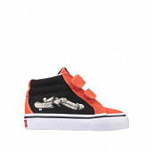 Sk8-Mid Re-issue Black/Orange TS
