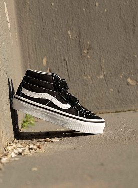 Sk8 mid Reissue Black/white PS