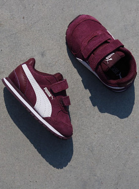 ST Runner Bordeaux/White TS