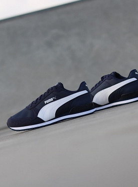 St runner v2 peacoat blue kids