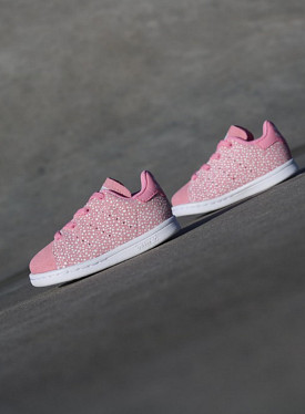 Stan smith Glow/Spikkels Pink TS