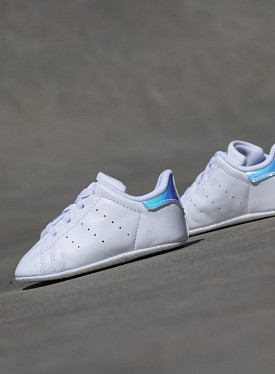 Stan smith White/Metsil Crib