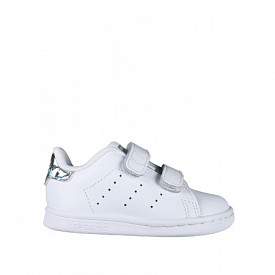 Stan smith White/Metsil velcro TS