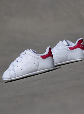 Stan smith White/Pink Crib