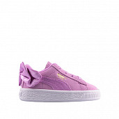 Suede bow ac orchid ts