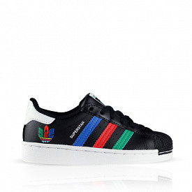 Superstar Black Green Cloud White PS