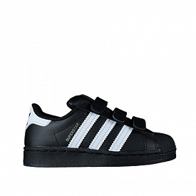 Superstar black/white strap