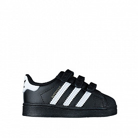 Superstar Black/White Velcro TS