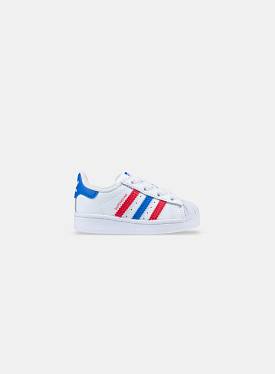 Superstar Cloud White Blue Scarlet TD