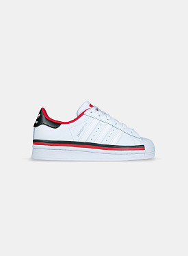 Superstar Cloud White Red Core Black GS