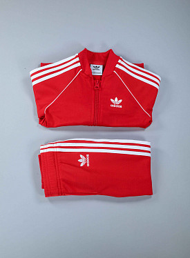 Superstar Set Lush-Red/white TS