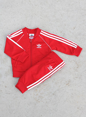 Superstar set scarlet/white TS