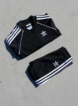 Superstar Suit Black/White TS