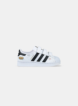 Superstar V Graphic Cloud White Core Black PS