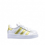 superstar white/gold
