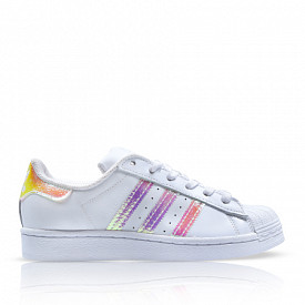Superstar White/Iridescent GS