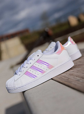 Superstar white/iridescent PS