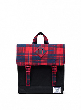 Survey black/plaid