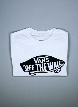 T-shirt Off the wall White PS/GS