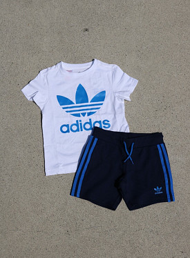 T-shirt Set White/Blue PS