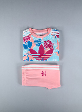 Tee legging set Flowers TS