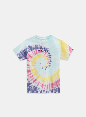 Tie Dye Easy Box T-shirt Rainbow Spectrum TD PS