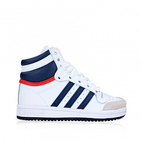 Top Ten Hi O.G. White/Dark Blue PS