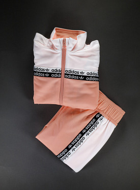 Tracksuit Glopink/white PS