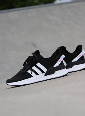 U-path Run Black/White GS