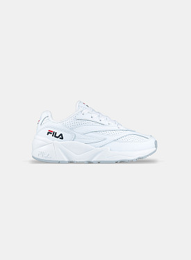 V94M Low White Perforated Leather GS