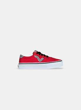 Vans Sport Checkerboard High Risk Red PS