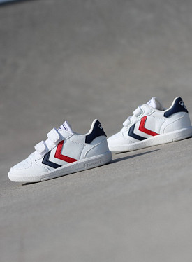 Victory White/Red/Blue Velcro TS