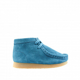 Wallabee Teal/Blue Suede TS