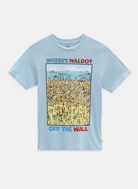 X Where's Waldo? Beach T-shirt Find Steve GS