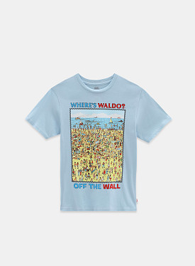 X Where's Waldo? Beach T-shirt Find Steve TD PS