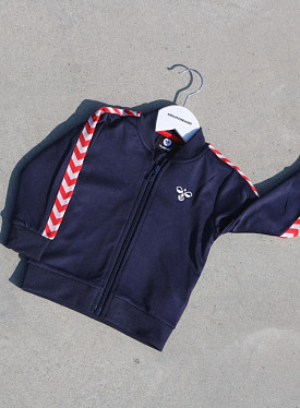 Zip Jacket Harley Blue/Red  TS