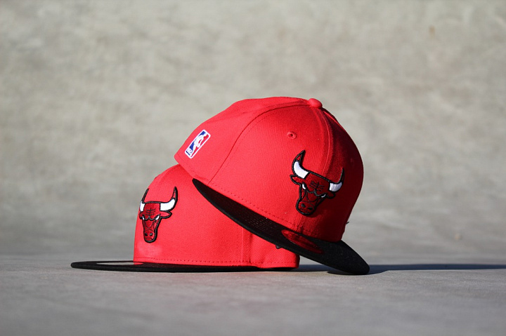 9FIFTY Chicago Bulls Red/Black Child (3)