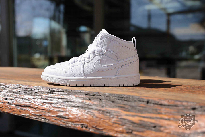 Jordan 1 mid white PS (4)