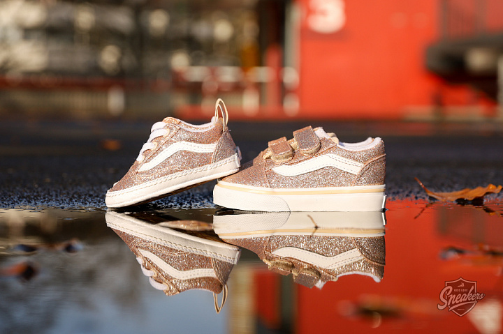 Old Skool V Glitter Brazilian Sand True White TD (3)