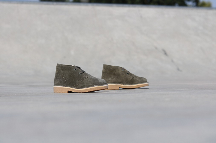 Desert Boot Olive Suede TS  (3)