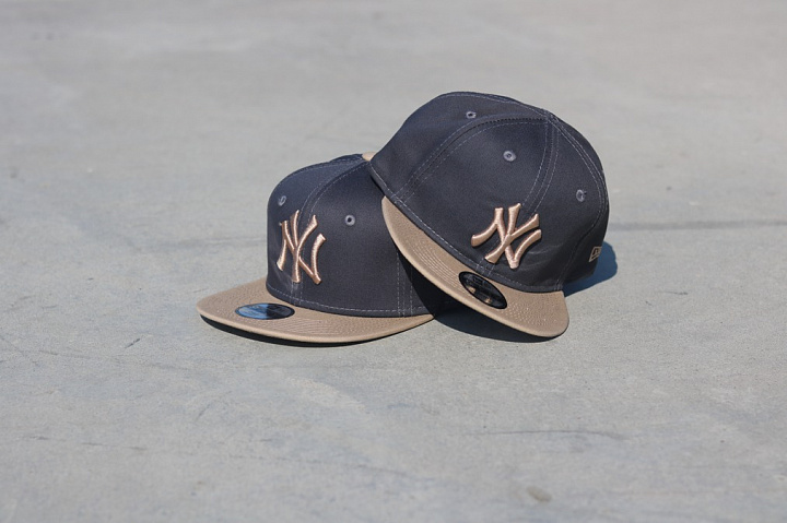 9fifty NY Yankees Grey/Sand (4)