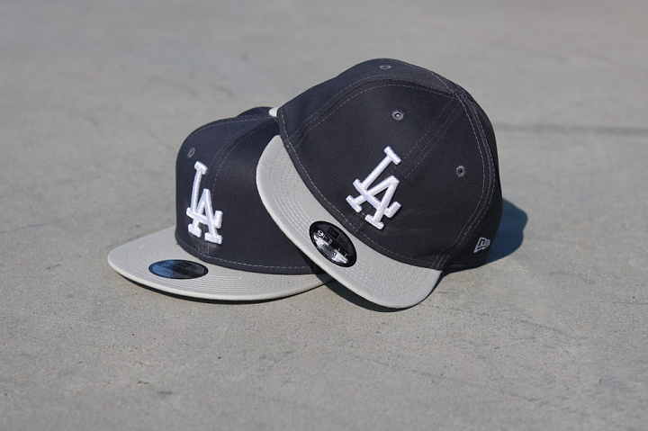 9fifty LA Dodgers Grey/Silver Child (3)