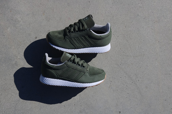Forest grove green/suede kids (5)