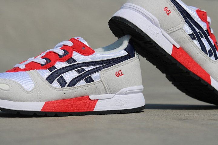 Gel-lyte White/Red/Navy PS (5)