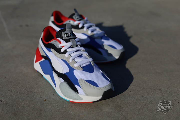 Rs-X Puzzle White/dazzling blue/red GS (3)