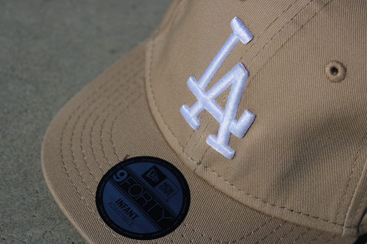 9forty LA Dodgers Sand/White Infant (3)