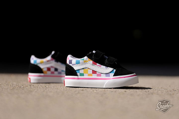 Old skool Rainbow/checker TS (1)