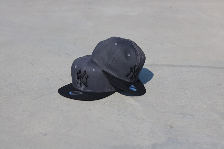 9fifty NY Yankees Grey/Black Youth (4)